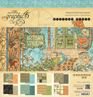 Graphic 45 Artisan Style 12 x 12 Paper Pad