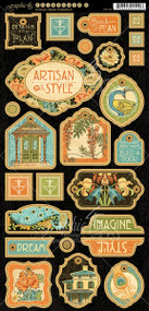 Graphic 45 Artisan Style Decorative Chipboard
