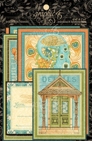 Graphic 45 Artisan Style Ephemera Cards