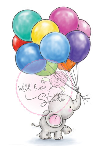 Wild Rose Studio - Bunch of Balloons
