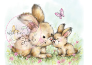 Wild Rose Studio - Spring Bunnies