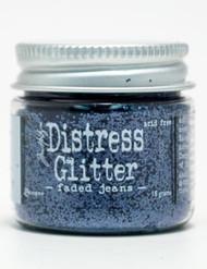 Tim Holtz Distress Glitter Faded Jeans