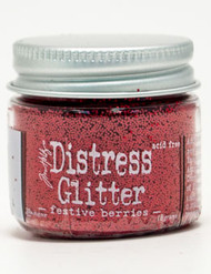 Tim Holtz Distress Glitter Festive Berries