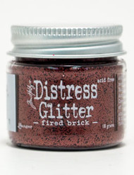Tim Holtz Distress Glitter Fired Brick