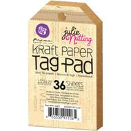 Julie Nutting Kraft Tag Pad