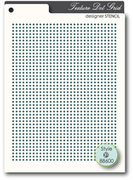 Memory Box Stencil Dot Grid 88600