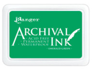 Ranger Archival Ink Pad - Emerald Green