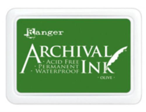 Ranger Archival Ink Pad - Olive