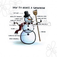 Stamping Bella How to Make a Snowman EB236