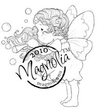 Magnolia BUBBLING TILDA Rubber Stamp
