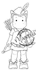 Magnolia SHERWOOD EDWIN Rubber Stamp
