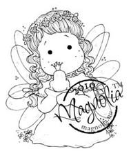 Magnolia FAIRY TALE TILDA Rubber Stamp