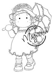 Magnolia ROMANTIC TILDA Rubber Stamp