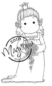Magnolia TILDA AS BRIDE Rubber Stamp