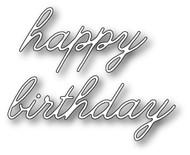 Poppystamps Craft Die - Decor Happy Birthday (PS-1318)