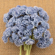 Wild Orchid Crafts 2-Tone Antique Blue Gypsophila paper flowers