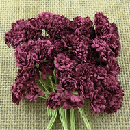 Wild Orchid Crafts Burgandy Gypsophila paper flowers