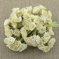 Wild Orchid Crafts Deep Ivory Gypsophila paper flowers