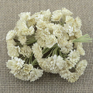 Wild Orchid Crafts Ivory Gypsophila paper flowers