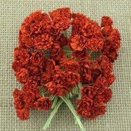 Wild Orchid Crafts Red Gypsophila paper flowers
