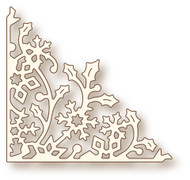 Wild Rose Studio Cutting Die Holly Vine Corner