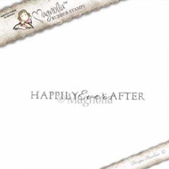 Magnolia Stamps Happily Ever After Text from Wedding Collection