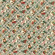 Graphic 45 Christmas Carol Scrapbook Paper Yuletide Greetings