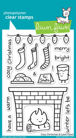 Lawn Fawn - Cozy Christmas Stamp Set (LF-334)