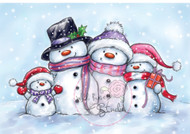 Wild Rose Studio - Snowmen (CL461)