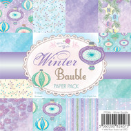 Wild Rose Studio - Winter Bauble 6 x 6 Paper Pack (PP046)