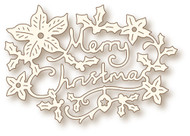 Wild Rose Studio - Cutting Die - Christmas Greeting (SD062)