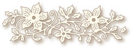 Wild Rose Studio - Cutting Die - Poinsettia Swirl (SD063)