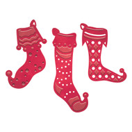 Spellbinders Stocking Trio (S3-221)