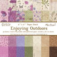Maja Design - Enjoying Outdoors - 6x6 Paper Stack