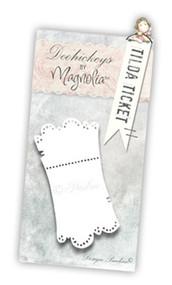 Magnolia Stamps DooHickey 059 - Prince & Princes - Tilda Ticket