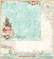 Blue Fern Studios - Vintage Christmas - 12x12 Wonderland