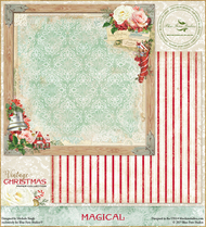 Blue Fern Studios - Vintage Christmas - 12x12 Magical