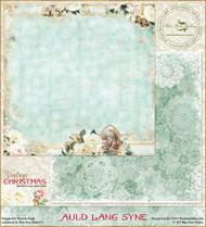 Blue Fern Studios - Vintage Christmas - 12x12 Auld Lang Syne