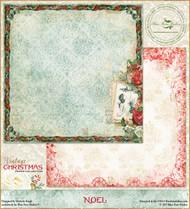 Blue Fern Studios - Vintage Christmas - 12x12 Noel