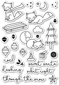 Poppystamps - Foxy Delights - Clear Stamp Set