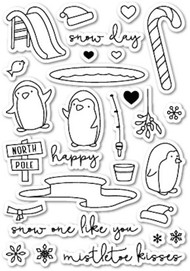 Poppystamps  - Snow One Like You - Clear Stamp Set