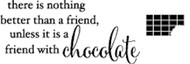 Memory Box - Cling Stamp - Chocolate