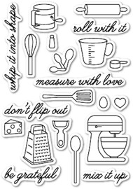 Memory Box - Clear Stamp Set - In the Kitchen