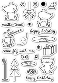 Memory Box - Clear Stamp Set - Hoppy Holiday