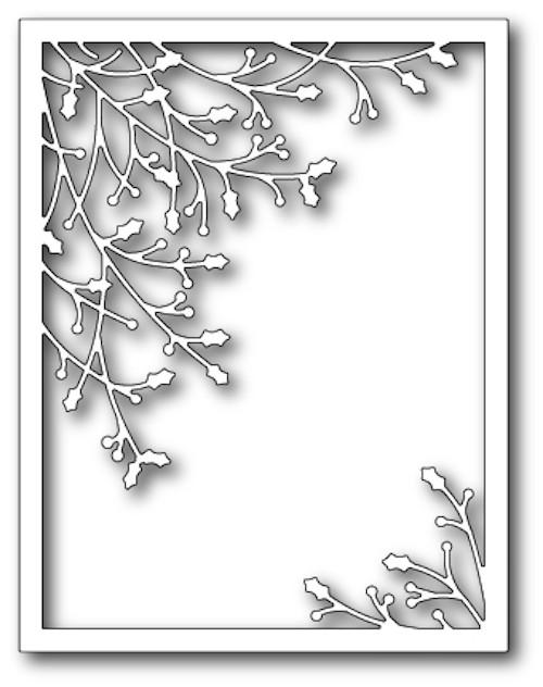 Memory Box - Craft Die - Jolly Holly Frame