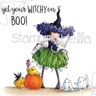 Stamping Bella - Tiny Townie Willow the Witch (EB324) 1
