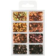 Craft Medley Cup Sequins - Box of Chocolates (GC457B)