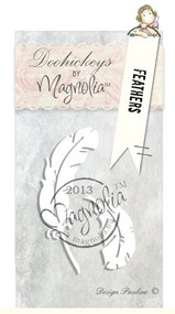 Magnolia Stamps DooHickey - Little Easter - Feathers