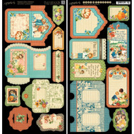 Graphic 45 - Children's Hour - Tags & Pockets (4501254)