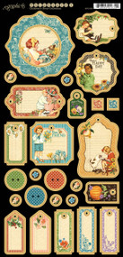 Graphic 45 - Children's Hour - Journaling Chipboard (4501256)
